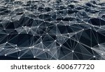 network low poly background | Shutterstock . vector #600677720