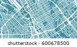 detailed vector map of san jose ... | Shutterstock .eps vector #600678500