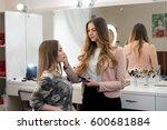 professional make up artist... | Shutterstock . vector #600681884