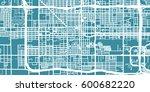 detailed vector map of phoenix  ... | Shutterstock .eps vector #600682220