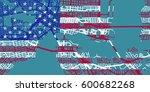 detailed vector map of... | Shutterstock .eps vector #600682268