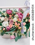 stunning roses and pastel... | Shutterstock . vector #600688454