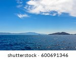 sea landscape with cloudy sky | Shutterstock . vector #600691346