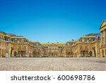 versailles palace entrance... | Shutterstock . vector #600698786