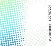 abstract grunge halftone... | Shutterstock .eps vector #600707204