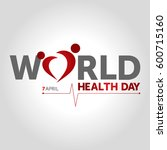 world health day | Shutterstock .eps vector #600715160