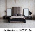 interior photo of modern loft... | Shutterstock . vector #600733124