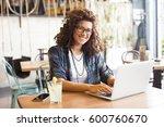 modern business woman in city...   Shutterstock . vector #600760670