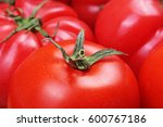 Tomato Texture. Fresh Big Red...