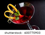 tall chilled fancy martini... | Shutterstock . vector #600770903