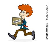 ridiculous caricature the man... | Shutterstock . vector #600780014