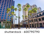 urban landscape in downtown san ... | Shutterstock . vector #600790790