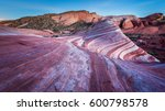 rock formation at night in... | Shutterstock . vector #600798578