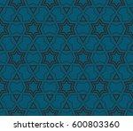 modern stylish texture.... | Shutterstock .eps vector #600803360