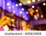 bokeh light | Shutterstock . vector #600814808