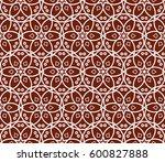 modern stylish texture.... | Shutterstock .eps vector #600827888