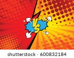 versus. vs. fight backgrounds... | Shutterstock .eps vector #600832184