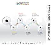 infographics design template... | Shutterstock .eps vector #600846119