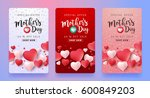 mothers day sale background... | Shutterstock .eps vector #600849203