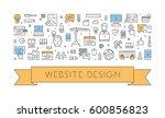 vector line concept for website ...
