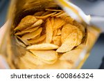 Potato Chips Is Snack In Bag...