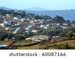 looking down at houses and... | Shutterstock . vector #60087166