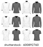 collection of men's clothes. t... | Shutterstock .eps vector #600892760