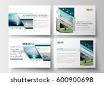 set of business templates for... | Shutterstock .eps vector #600900698