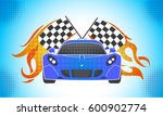 icons racing of sports cars in... | Shutterstock .eps vector #600902774