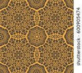 seamless pattern assembled from ... | Shutterstock .eps vector #600905474