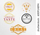 restaurant logo package | Shutterstock . vector #600914894