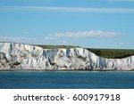 chalk cliffs at the coast of... | Shutterstock . vector #600917918