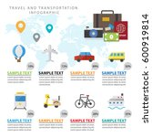 colorful travel info graphic... | Shutterstock .eps vector #600919814