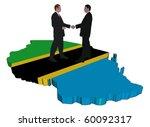 business people shaking hands... | Shutterstock . vector #60092317