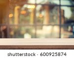 empty wooden table for product... | Shutterstock . vector #600925874