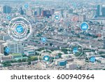 internet of things  iots  over... | Shutterstock . vector #600940964