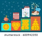 investment infographic concept... | Shutterstock .eps vector #600942350