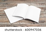 blank catalog  magazines book... | Shutterstock . vector #600947036