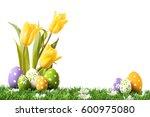 Easter Eggs Hiding In The Gras...