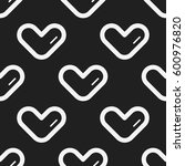 seamless pattern vector with... | Shutterstock .eps vector #600976820