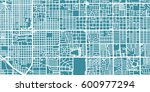 detailed vector map of tucson ... | Shutterstock .eps vector #600977294