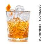 cocktail godfather | Shutterstock . vector #600982310
