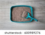 Cat Litter Box With Scoop On...