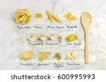 Different Varieties Of Pasta...