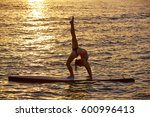 Yoga Girl Over Sup Stand Up...