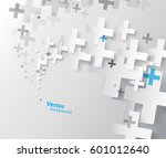 abstract background created... | Shutterstock .eps vector #601012640