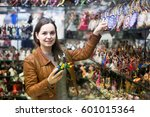 Russian Female Customer Buying...