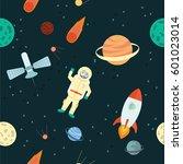 stock vector illustration space ... | Shutterstock .eps vector #601023014