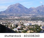 spanish mountains and fauna... | Shutterstock . vector #601038260