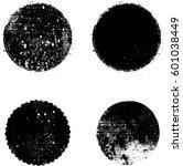 grunge rubber stamp texture ... | Shutterstock .eps vector #601038449